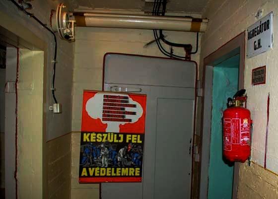 Atombiztos bunkerbe látogathatunk Csepelen