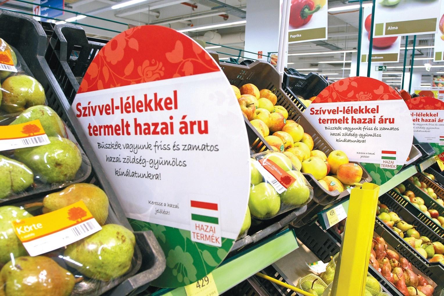 A vásárlók többségének fontos, hogy magyar terméket vegyen