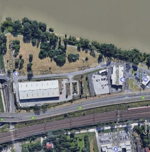 Csodálatos Duna-parti rekreációs területet hoznak létre Dél-Budán