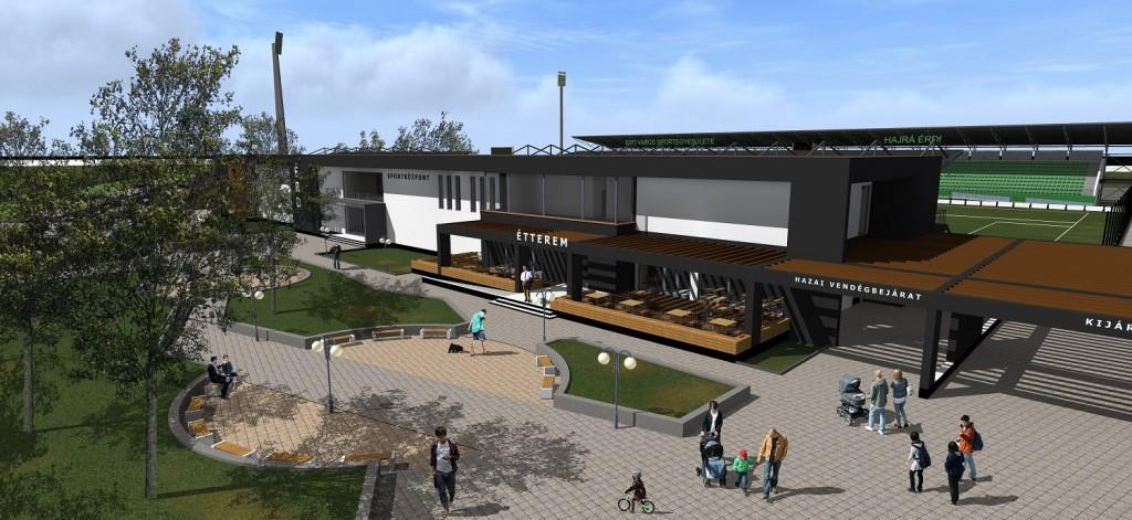 Zöld utat kapott Érd új sportközpontja