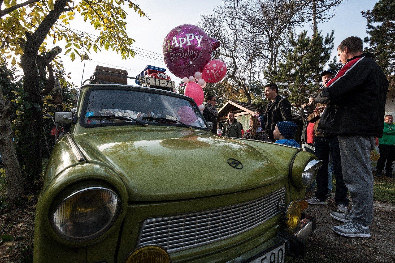 Érden ünnepelték a 60 éves Trabantot