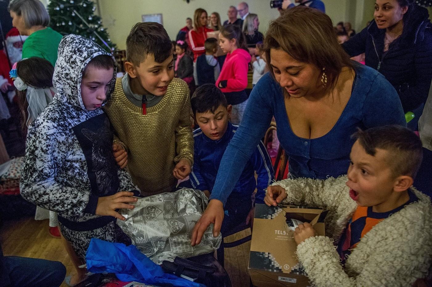 Teljesültek a Hős utcai gyerekek karácsonyi kívánságai