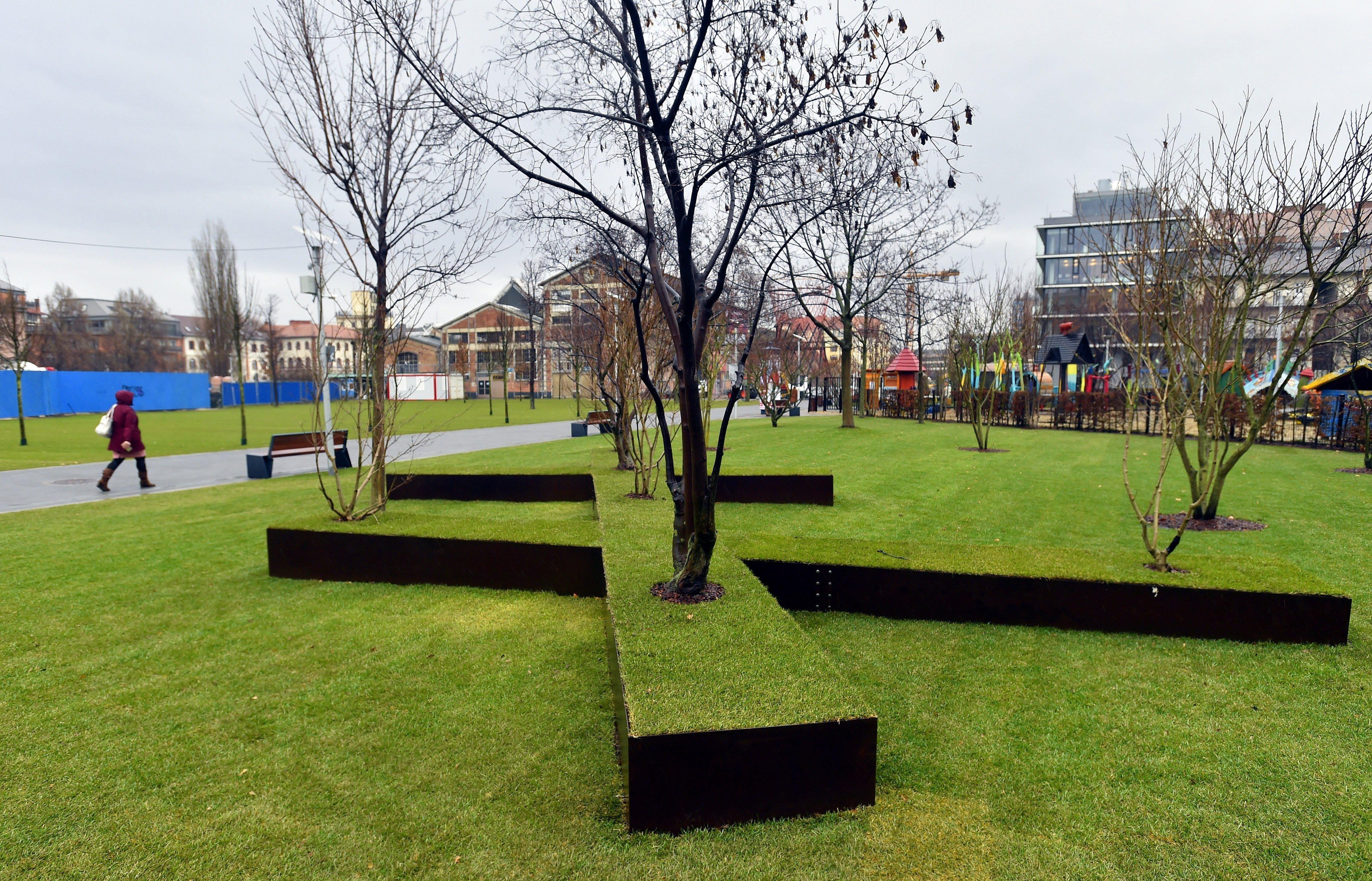 Már kész a park a Millenáris hathektáros fejlesztésében