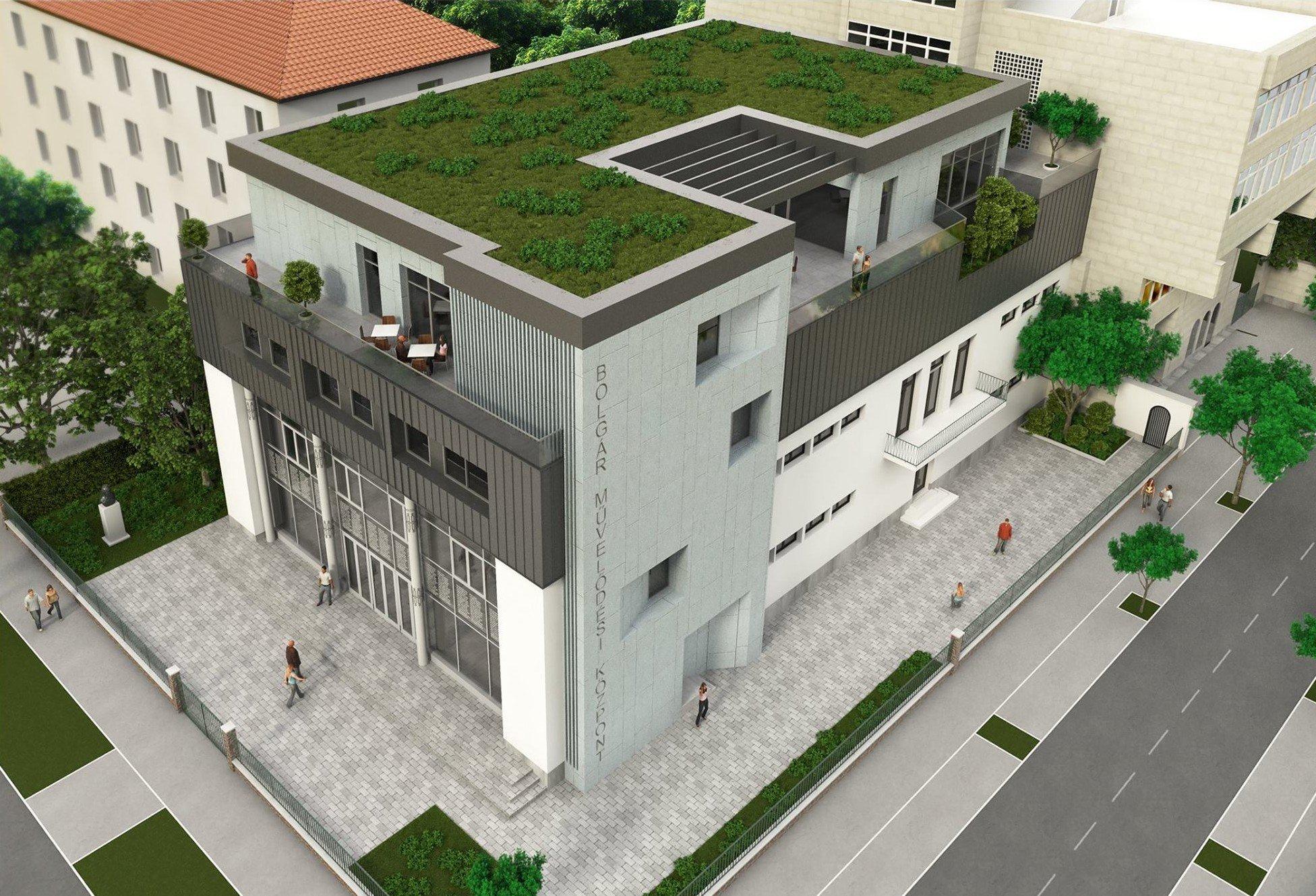 Új emeletet kap a fővárosi Bolgár Művelődési Ház