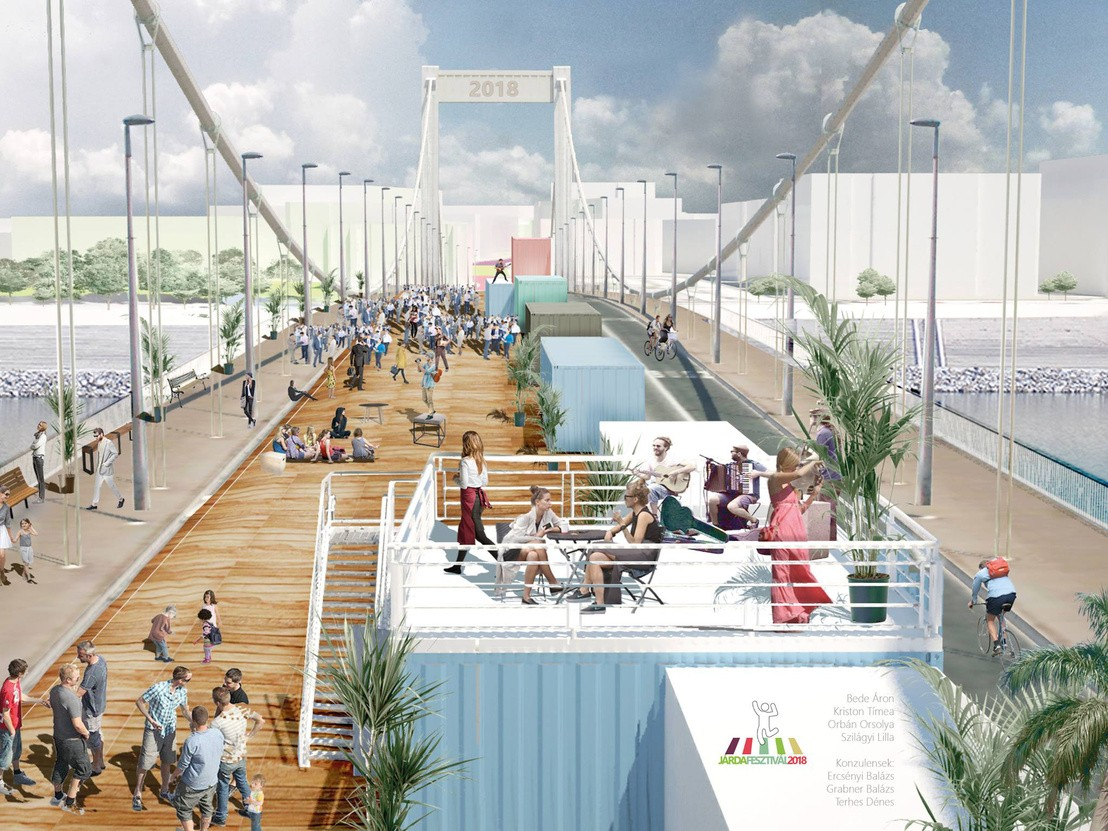 Közösségi térré változtatná Budapest ütőerét egy díjnyertes terv