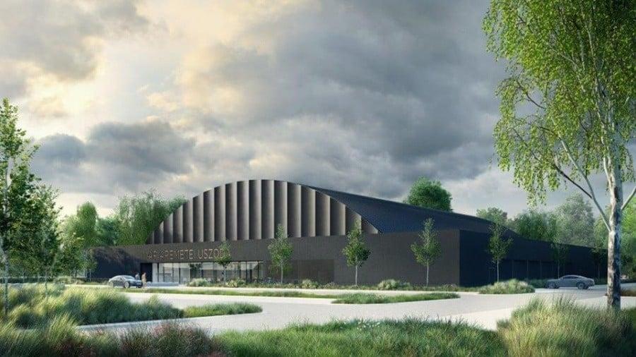 Uszodával bővül a sportközpont Máriaremetén
