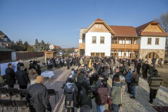 Új református templomot kap Soroksár