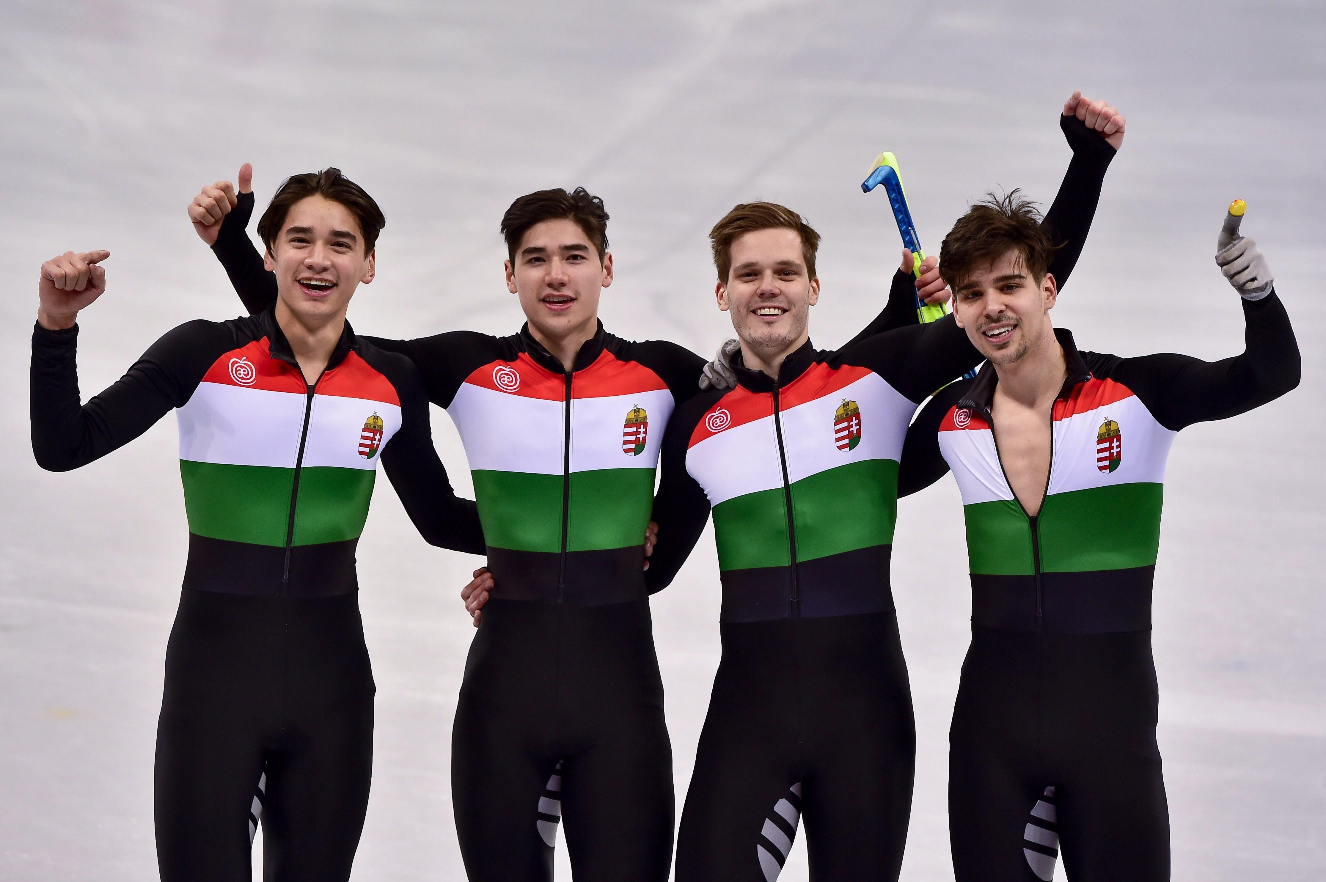 Hatalmas hajrá hozta Magyarország első téli olimpiai aranyérmét