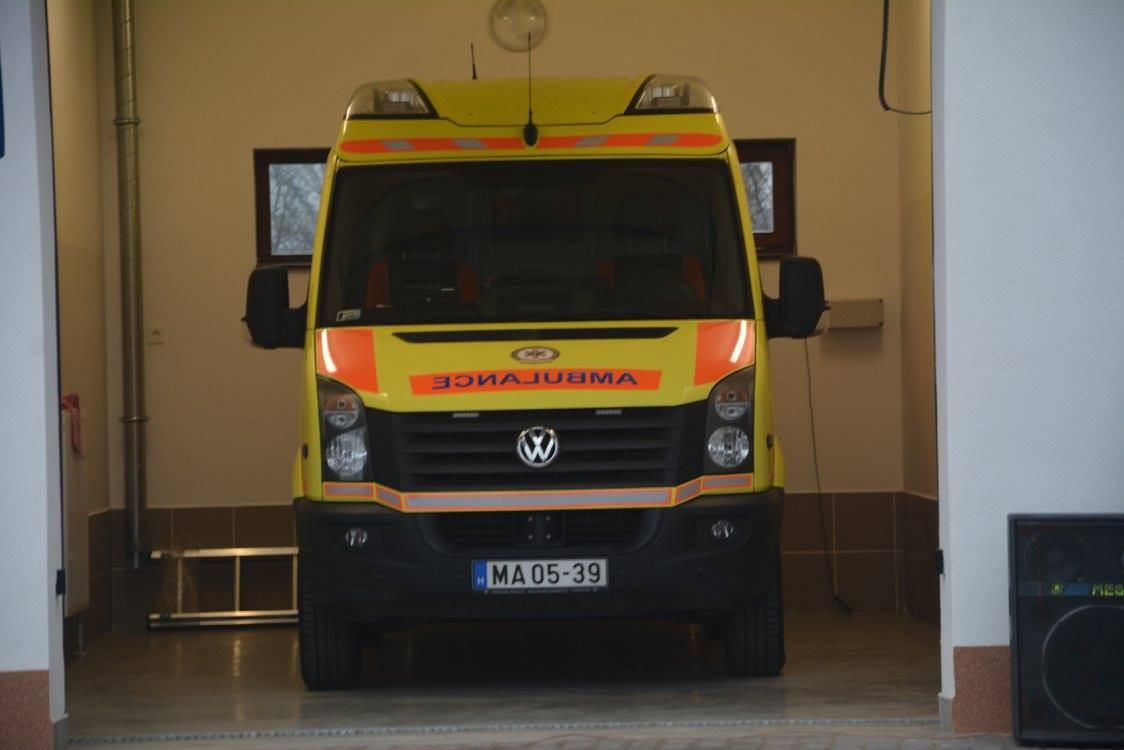 Megújul a 34 éves váci mentőállomás