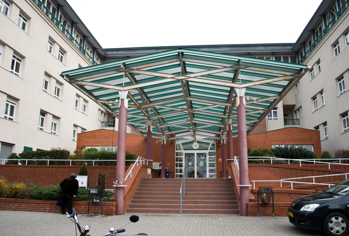 Hatalmasat fejlődik Újbuda központi kórháza