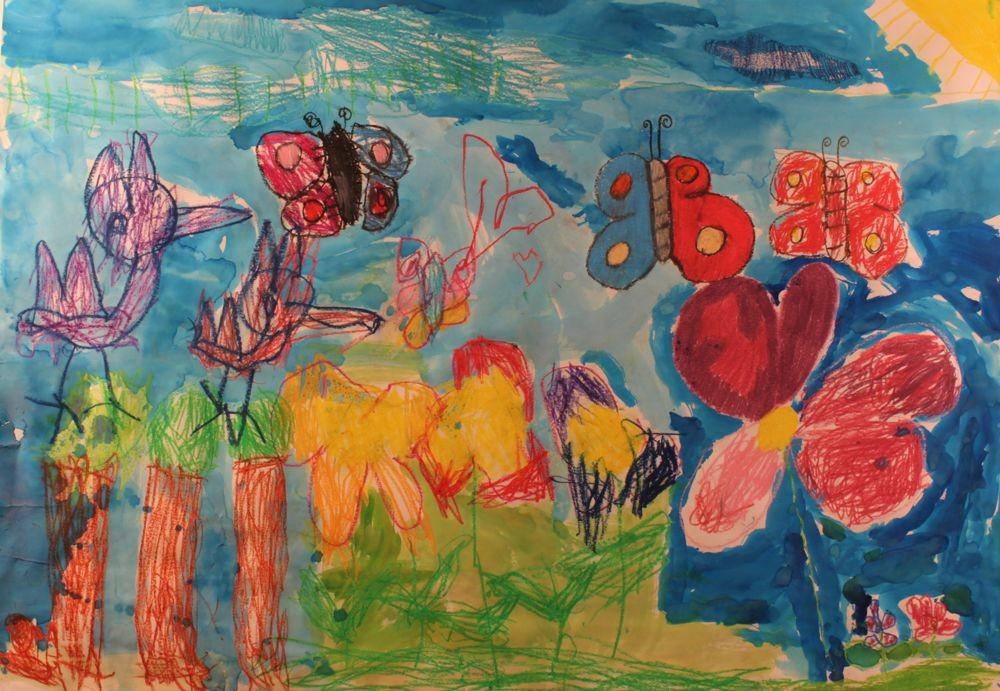 Zeneszobát építenének sérült gyerekeknek festményeik eladásából