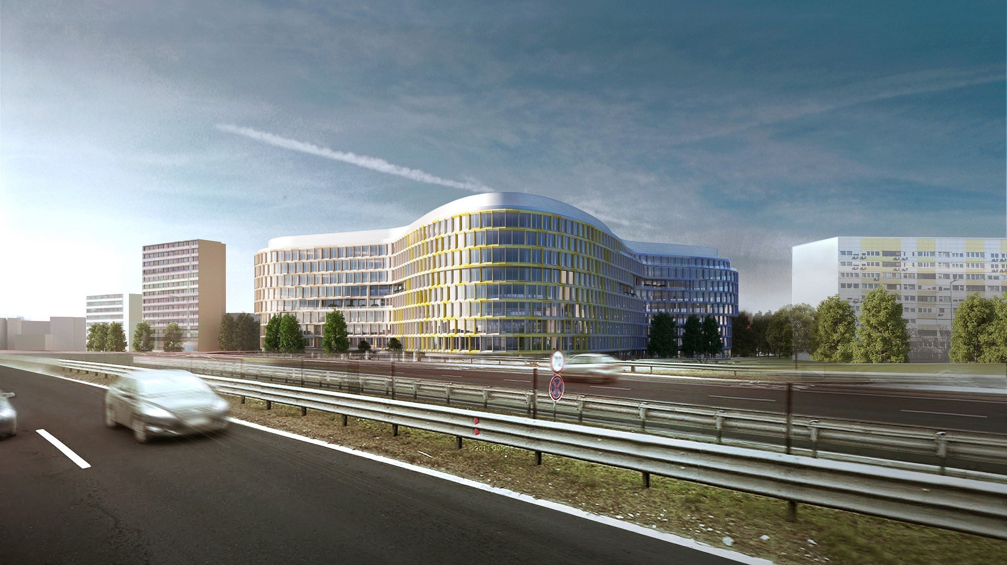 65 ezer négyzetméteres irodapark épül Budapest nyugati kapujában
