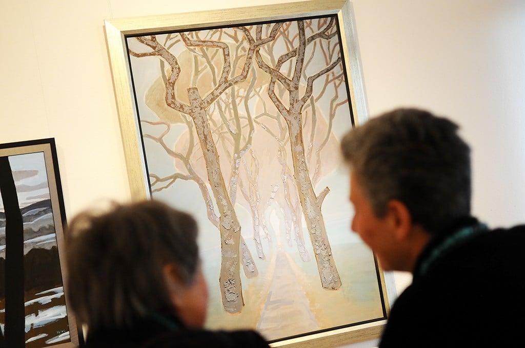 Munkácsy-díjas festő kiállítása nyílt meg a Csepel Galériában