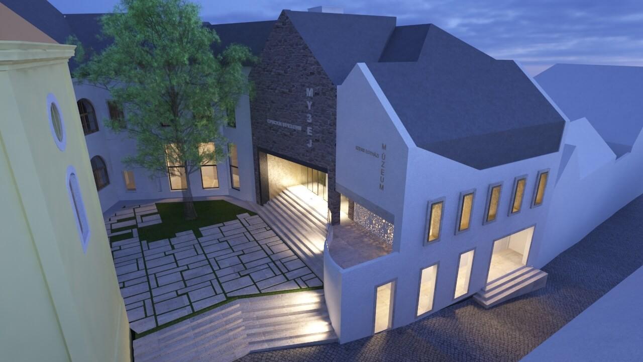 Ilyen lesz a megújuló Szerb Egyházi Múzeum