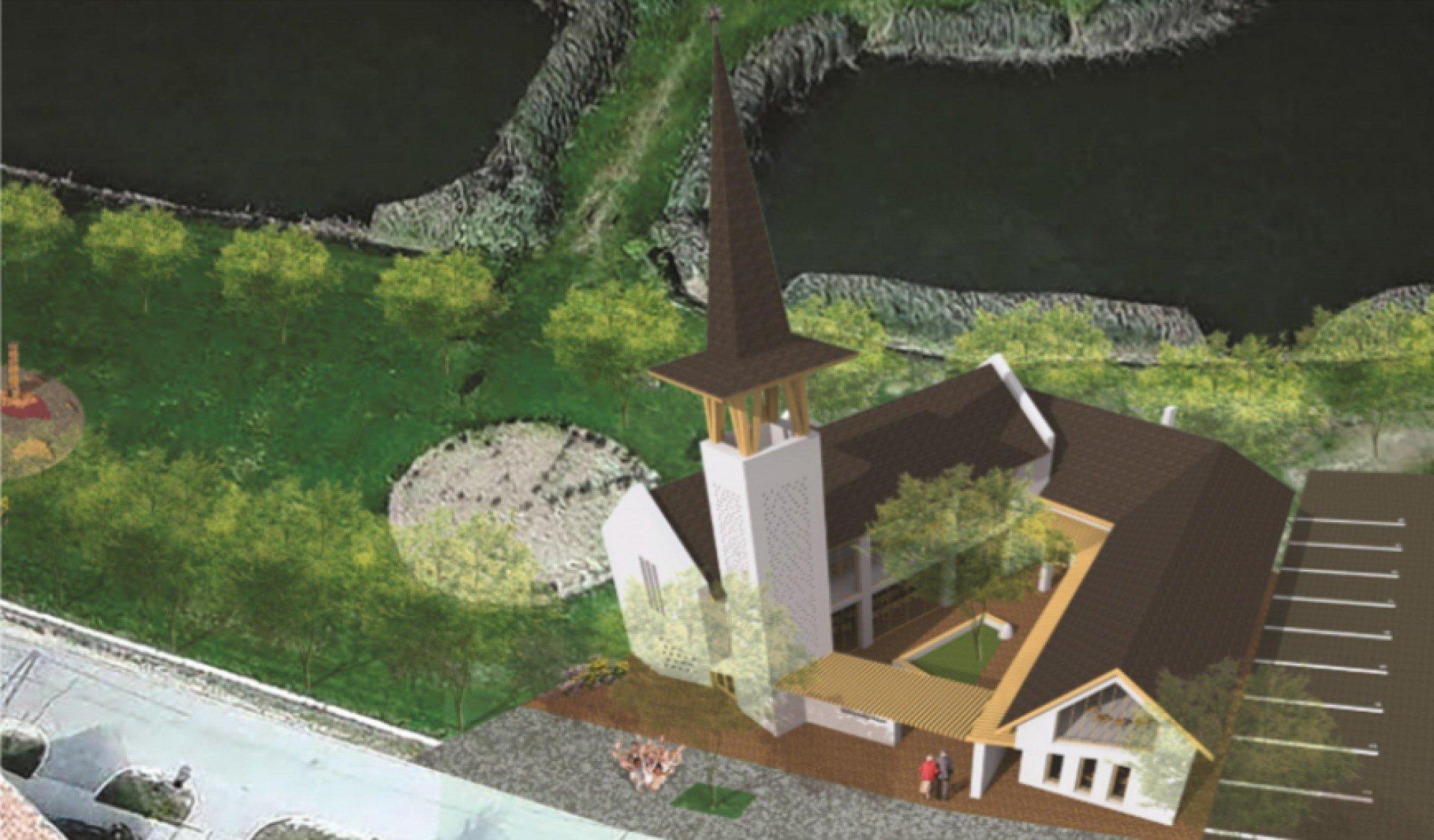 Református templom és közösségi ház épül Taksonyban