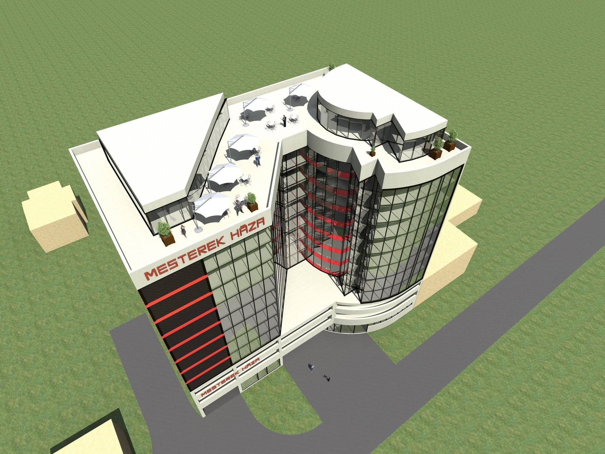 Tízemeletes irodaházat kaphat Érd