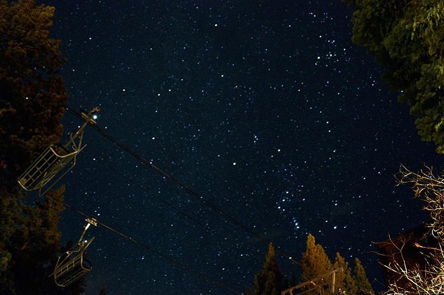 Libegőről tekinthetjük meg a csillaghullást