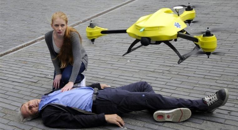 Drónokat vethetnek be a mentősök Budapesten