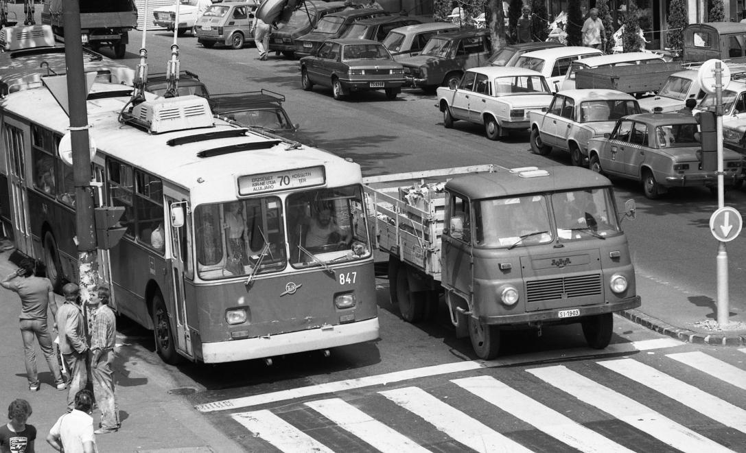 Szombaton visszatérnek a szovjet trolik Budapestre