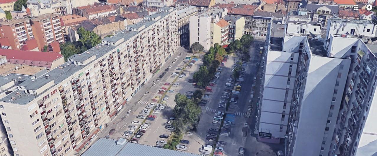 Októberre üde színfolt jön létre a józsefvárosi panelházak között