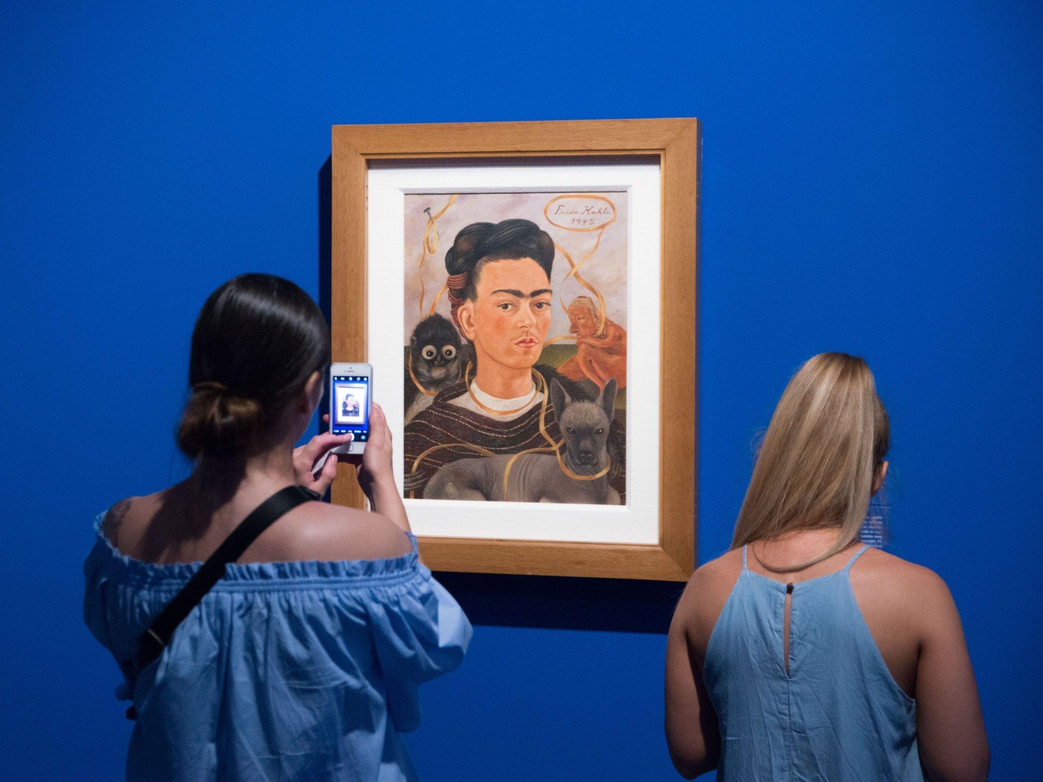 Az utóbbi három év legnépszerűbb tárlata lett a Frida Kahlo kiállítás