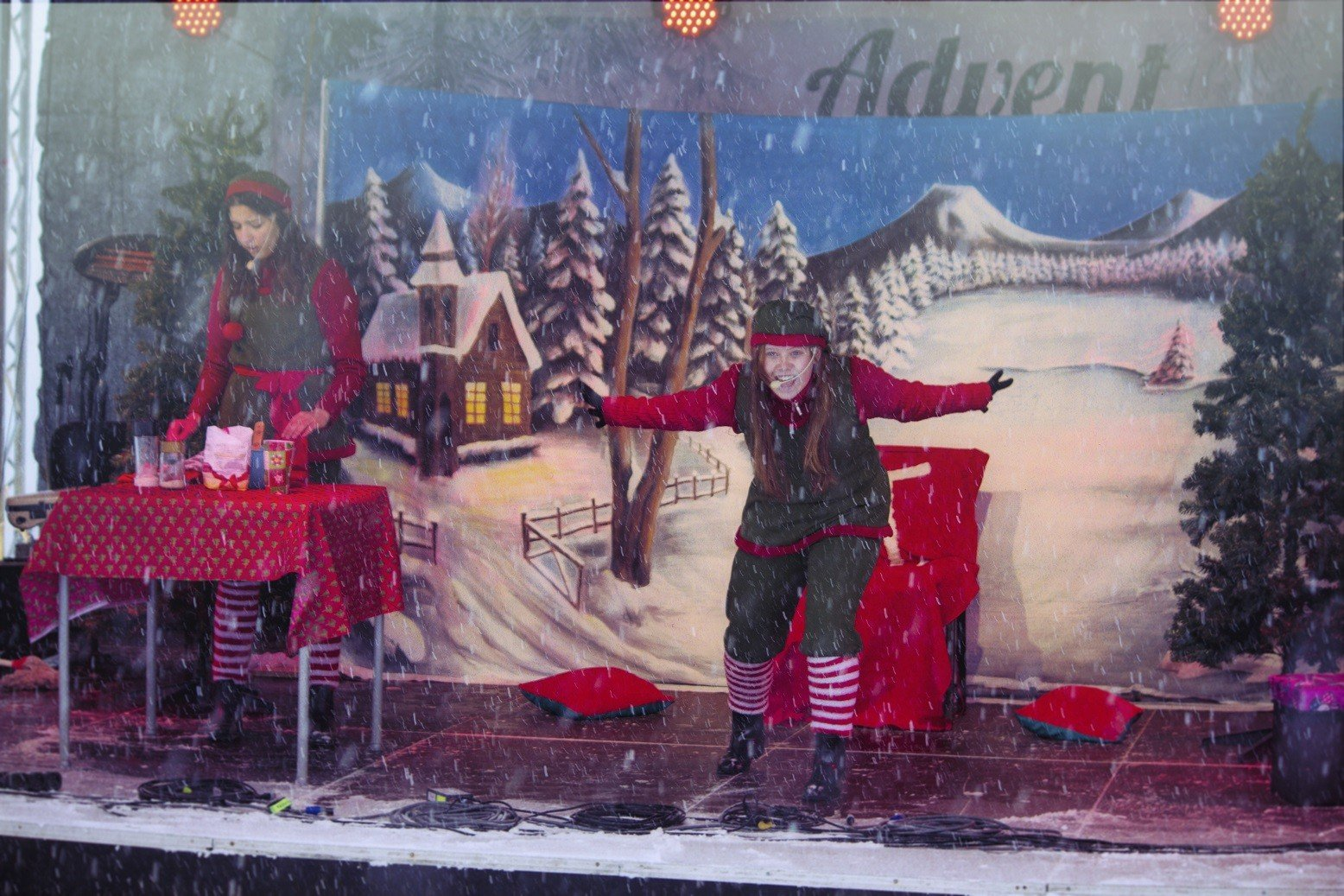 Advent a Kékesen Szinetár Dórával, Szekeres Adriennel és a gyöngyösi kézilabdásokkal