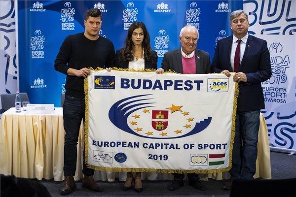 Jövőre Budapest lesz Európa Sportfővárosa