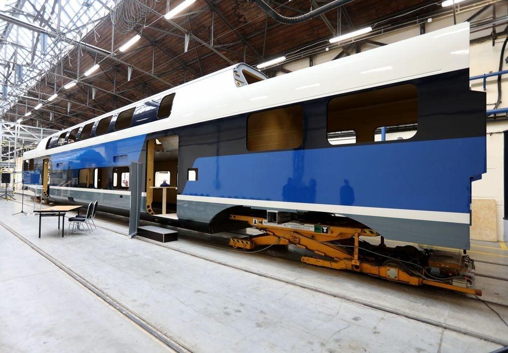 Újabb emeletes vonatok közlekedhetnek a Budapest-Dunakeszi-Vác vonalon