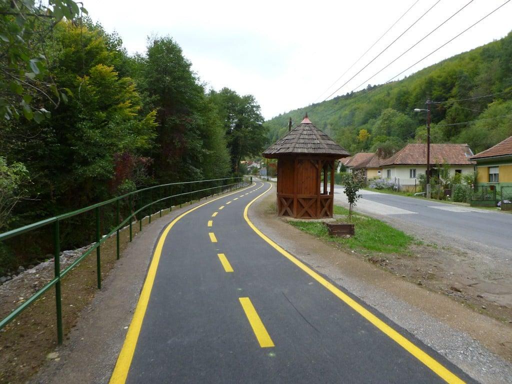 Kerékpárút épül Pomáz és Szentendre között