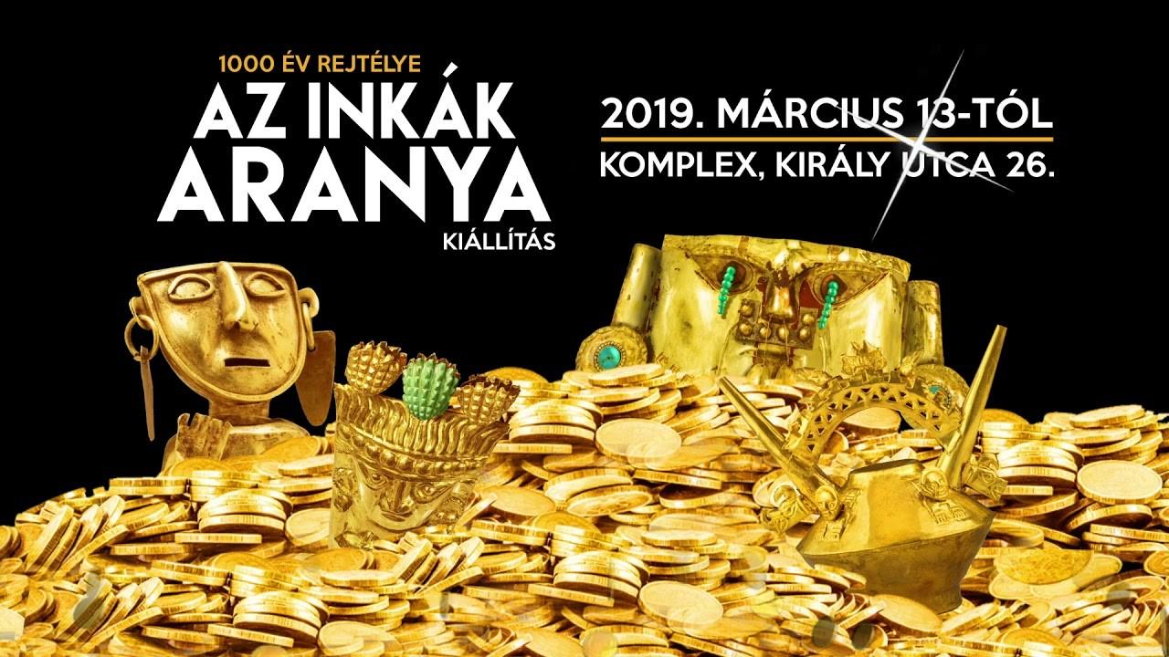 Megnyílt Az inkák aranya című kiállítás a fővárosban