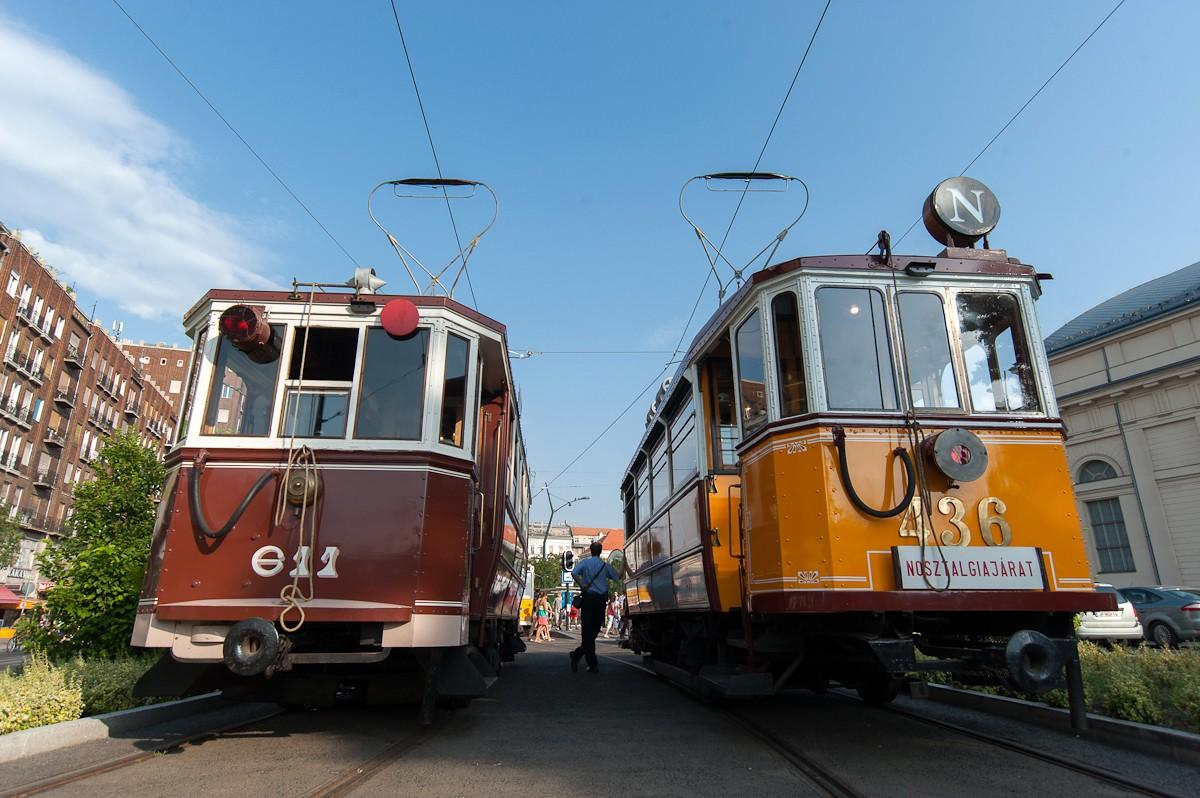 Egész nyáron közlekednek a nosztalgiajáratok Budapesten