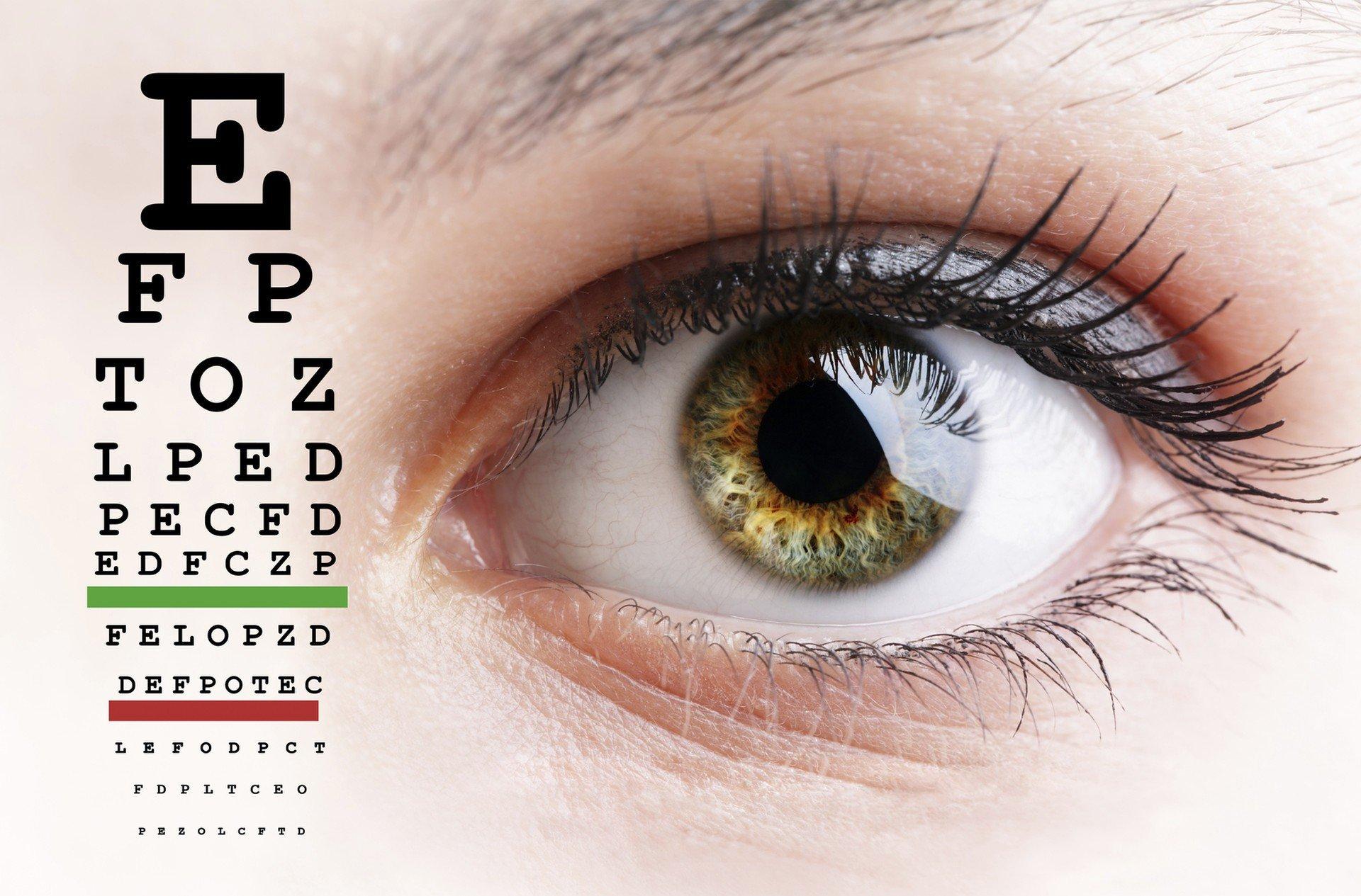 szem és látás téma