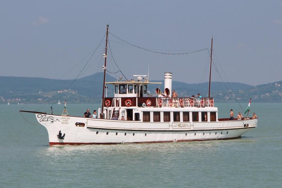 A balatoni hajózás is formát ölt az Utazáson