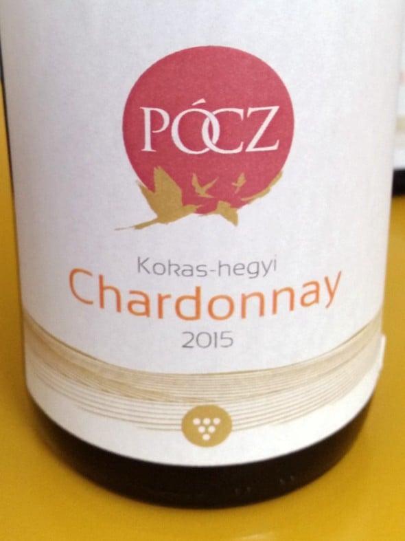 Kokas-hegyi chardonnay lett Somogy megye bora