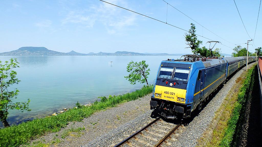 Június közepétől ismét járnak a vonatok a Balaton déli részén