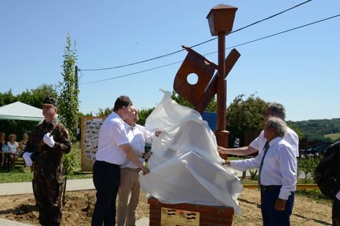 '56-os emlékparkot avattak Kaposszerdahelyen