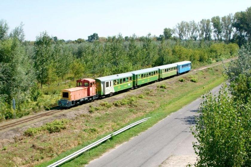 Balatonfenyvesen is beindul a kisvasútfejlesztés