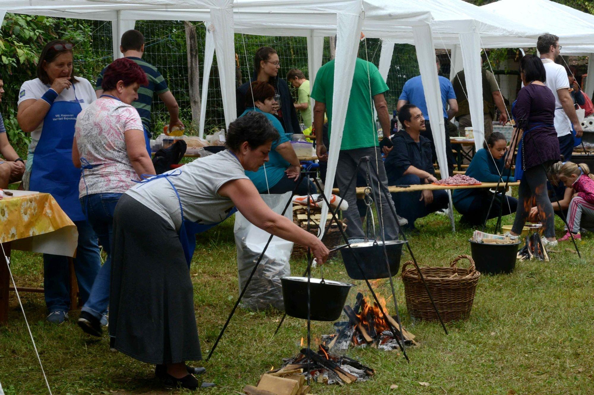 Idén is fakanalat ragadtak a főzőcsapatok a KÁN-on