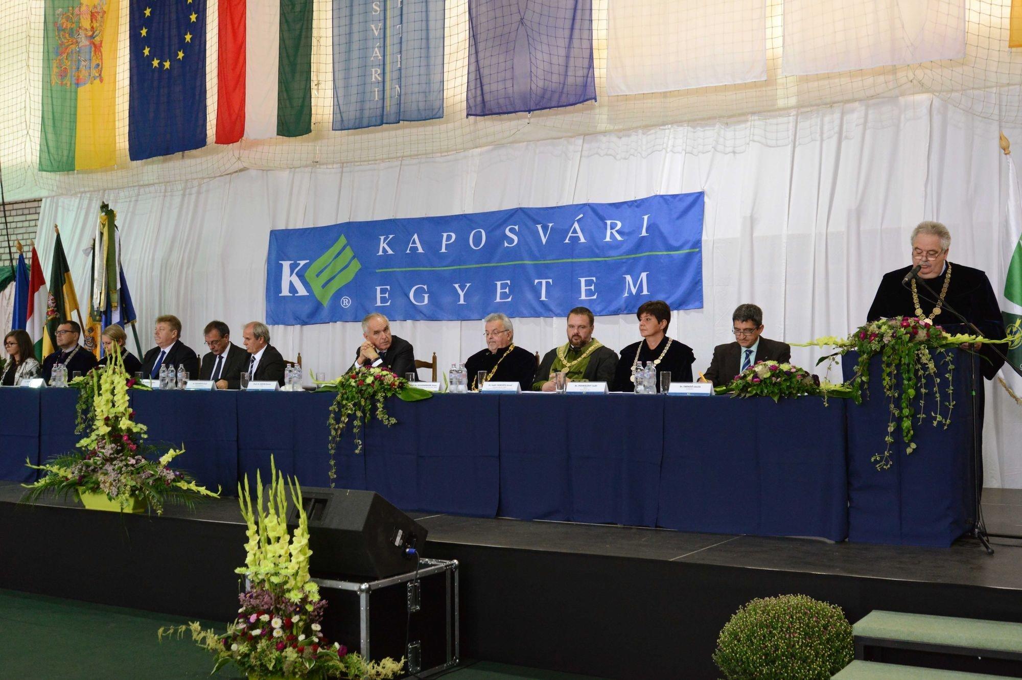 Tanévnyitó a Kaposvári Egyetemen