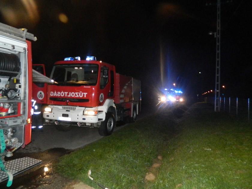 Mozgáskorlátozottakat mentettek a kaposvári otthonból