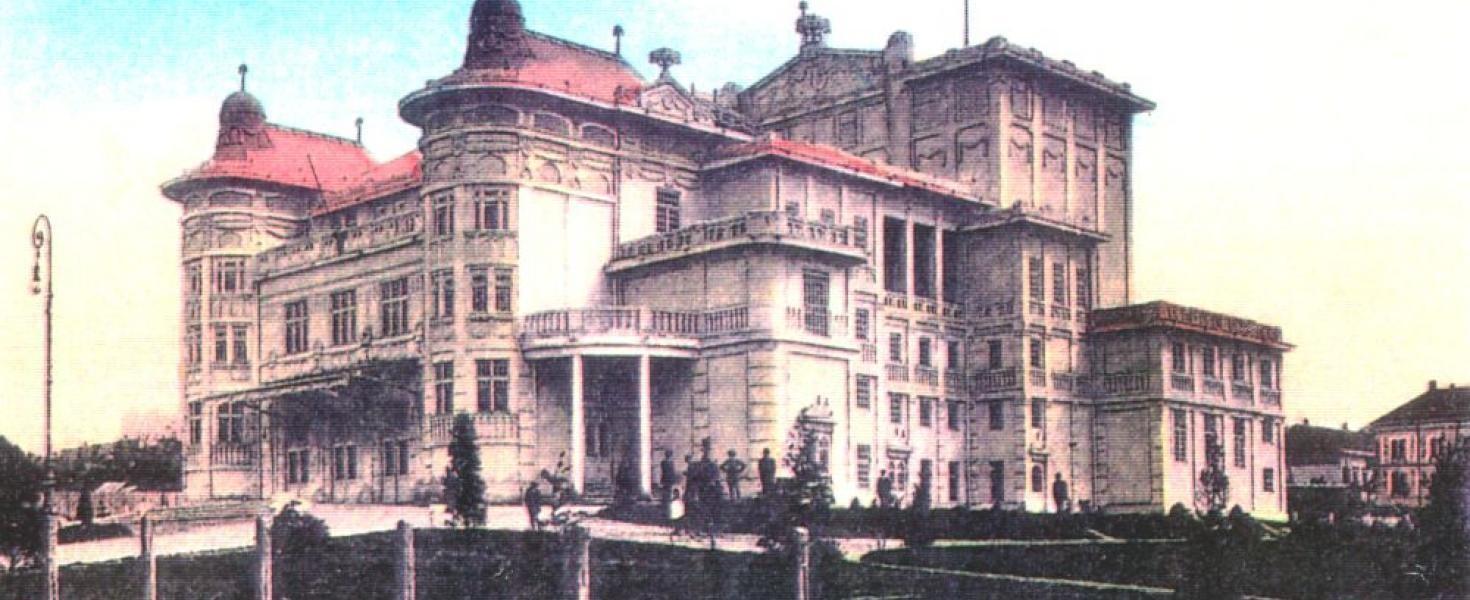 Teljes felújításon esik át a kaposvári teátrum.