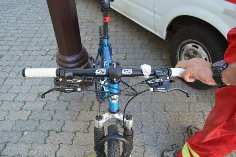 Felrúgtak egy kerékpárost Kaposváron