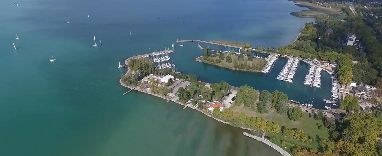 Négyszáz vitorlás kap helyet a Balaton legnagyobb kikötőjében