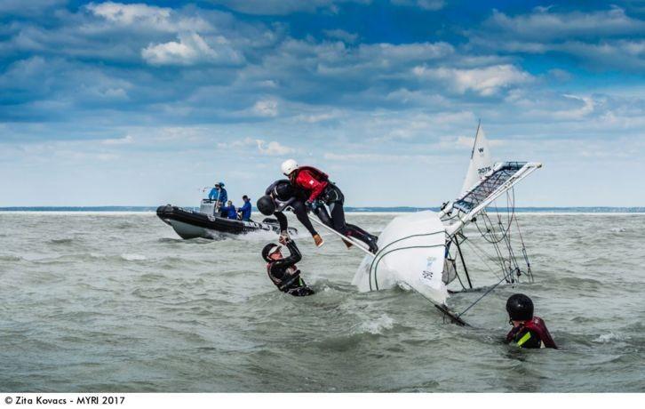 Egy balatoni képet is díjaztak a világ legrangosabb vitorlásfotó-versenyén