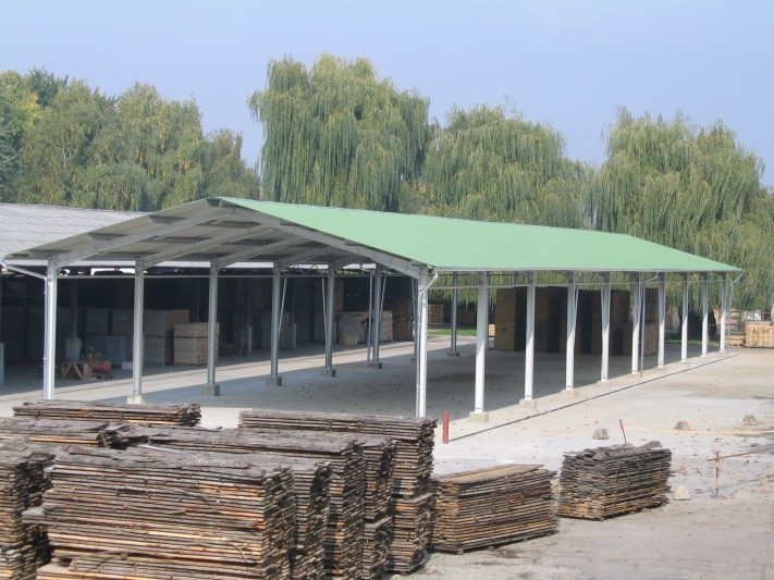 Új csarnok épült a Csurgói Faipari Gyárban