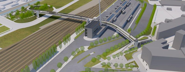 Így fog kinézni a Kaposvári Közlekedési Központ