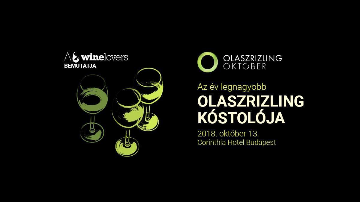Olaszrizling Október nagykóstoló tizennégy borvidék boraival