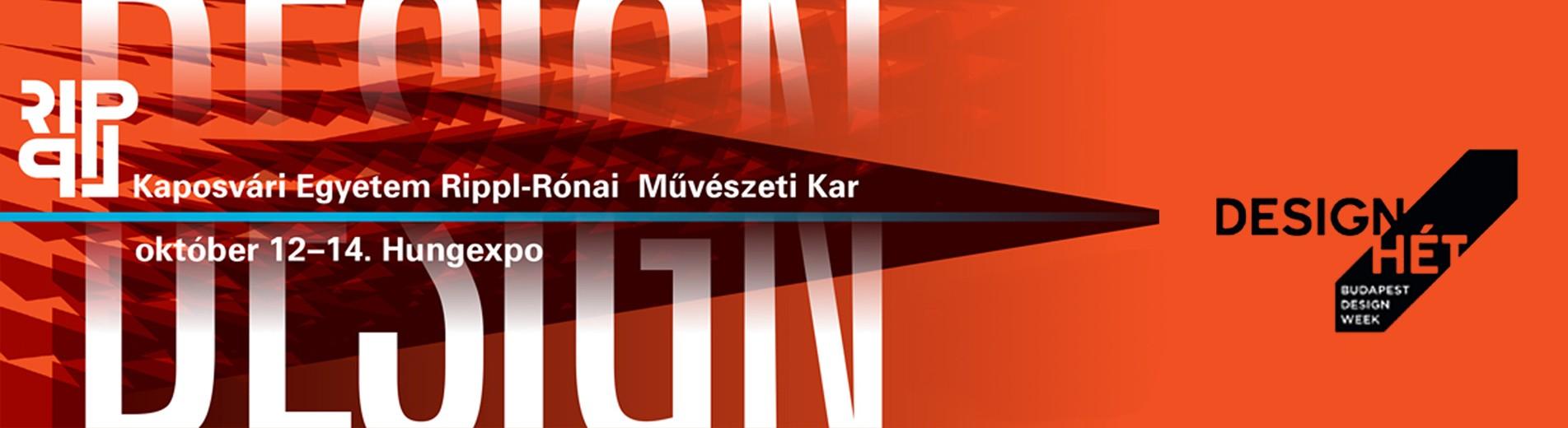 A Design Héten képviselteti magát a Kaposvári Egyetem Művészeti Kara