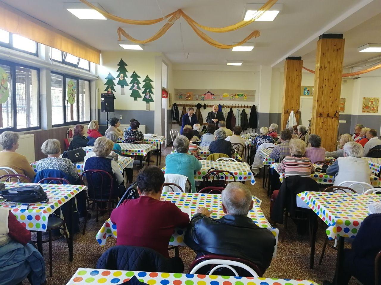 Tájékoztató előadás nyugdíjasoknak Siófokon