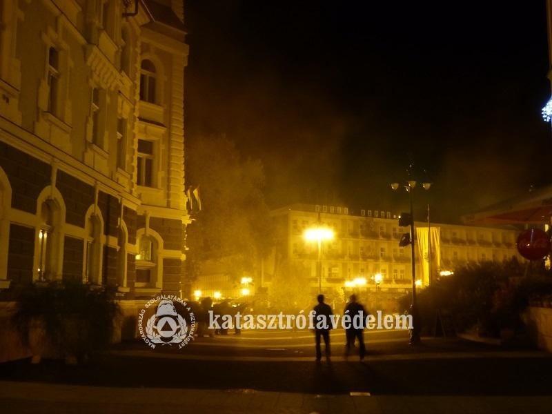 Tűz a kaposvári városházán